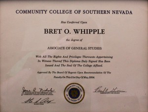 Community College of Southern Nevada General Studies